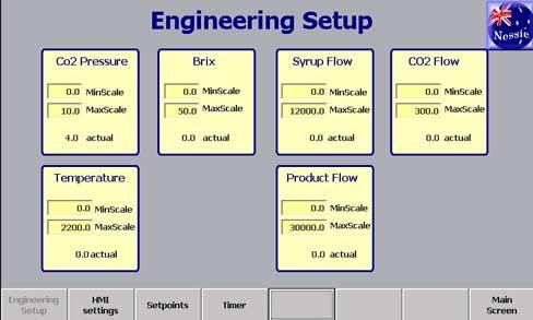 engineering settings