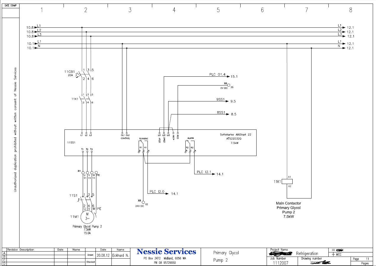 Electrical Services Drawing Electrical Drawing